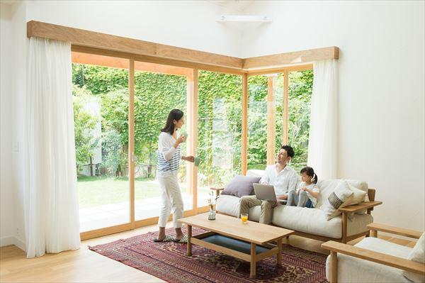 ZEH基準の断熱性能を持つ家
