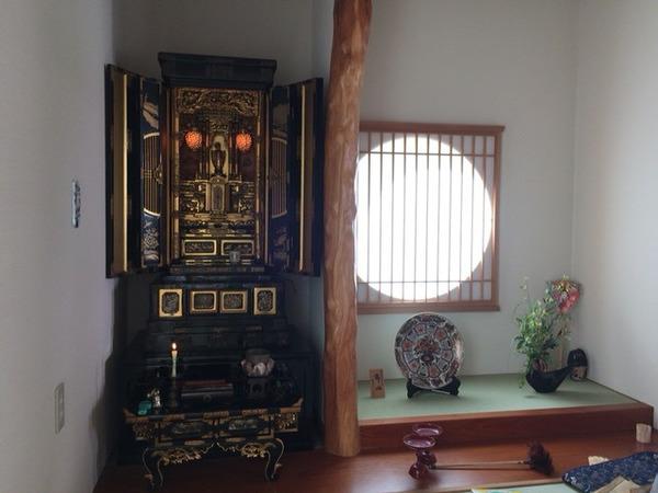 我が家に、仏壇がきました!