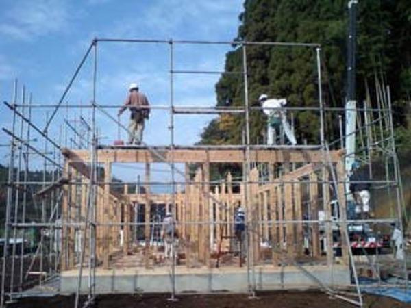 建て方開始