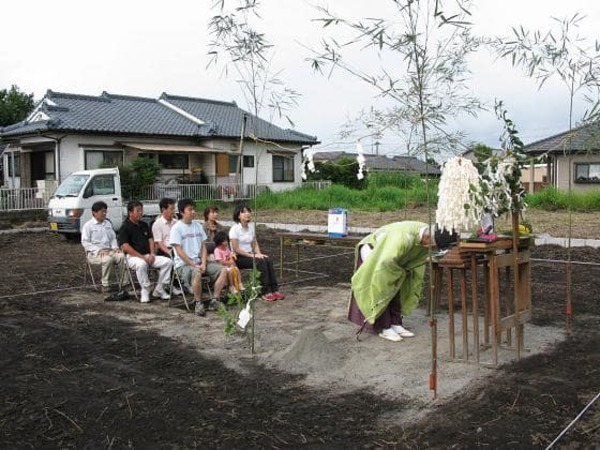 地鎮祭と見学会