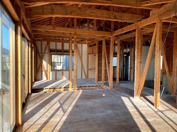 施工事例に中古住宅の高性能化事例を紹介しました。「祝吉の家の高性能化リフォーム2020」